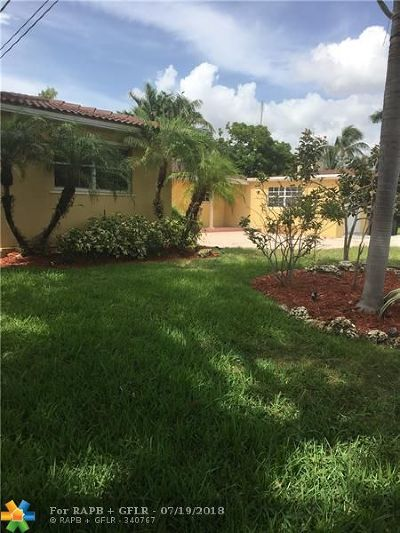 Fort Lauderdale FL Single Family Home For Sale: $535,000