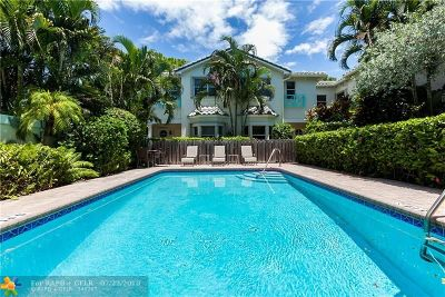 Fort Lauderdale Condo/Townhouse For Sale: 700 NE 7th Ave #7