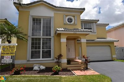 Coconut Creek Single Family Home For Sale: 5400 NW 41st Way