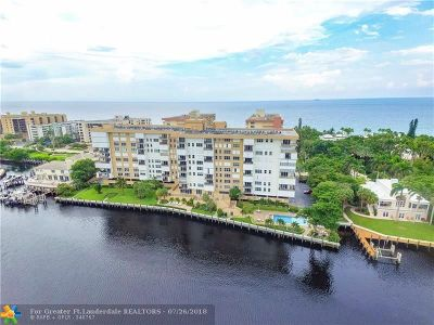 Hillsboro Beach Condo/Townhouse For Sale: 1150 Hillsboro Mile #409