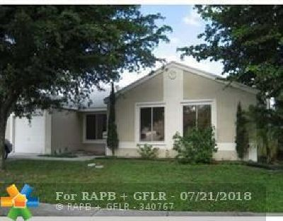 Boca Raton FL Single Family Home For Sale: $99,900