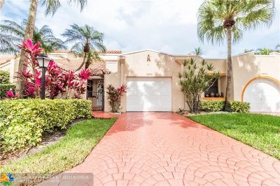 Boca Raton Condo/Townhouse For Sale: 22722 Meridiana Dr #22722