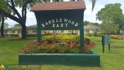 Coral Springs Condo/Townhouse For Sale: 4126 NW 88th Av #104