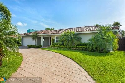 Fort Lauderdale FL Single Family Home For Sale: $739,900