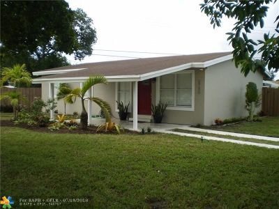 Fort Lauderdale FL Single Family Home For Sale: $275,000