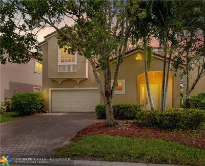 Coral Springs Single Family Home For Sale: 12650 NW 6th St