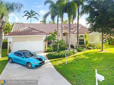 Coral Springs Single Family Home For Sale: 9127 NW 41st Mnr