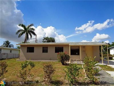 Fort Lauderdale Single Family Home For Sale: 1716 NW 15th Ct