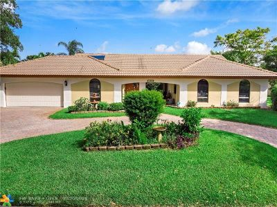 Coral Springs Single Family Home For Sale: 10962 NW 12th Dr