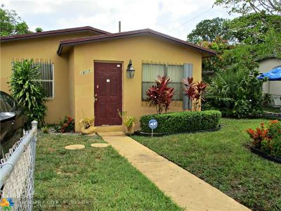 Pompano Beach Single Family Home For Sale: 2817 NW 2nd St
