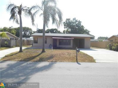 Pompano Beach Single Family Home For Sale: 2931 NE 11th Ave