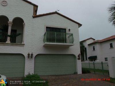 Fort Lauderdale Condo/Townhouse For Sale: 2860 Hidden Harbour Ct #2860