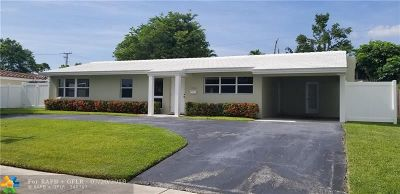 Fort Lauderdale Single Family Home For Sale: 2408 Barbara Dr
