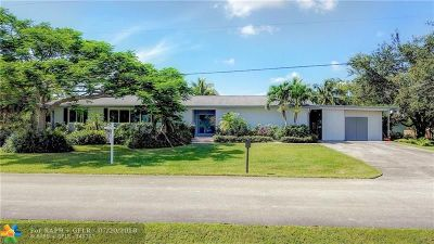 Plantation Single Family Home For Sale: 12000 NW 25th St