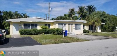Fort Lauderdale Multi Family Home For Sale: 2421 NE 25th Pl