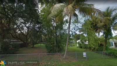 Fort Lauderdale Residential Lots & Land For Sale: 414 SW 7th St