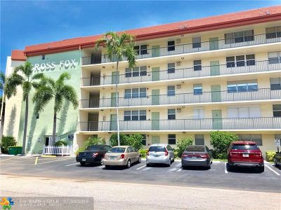 Fort Lauderdale Condo/Townhouse For Sale: 5300 NE 24th Ter #525C