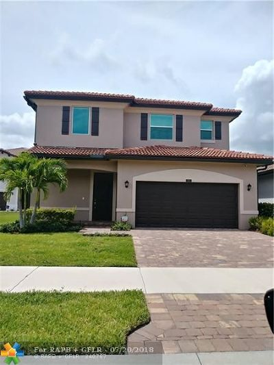 Lake Worth Single Family Home For Sale: 5824 Ashdale Road