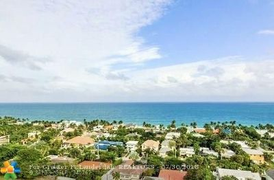 Fort Lauderdale Condo/Townhouse For Sale: 3015 N Ocean Blvd #5G
