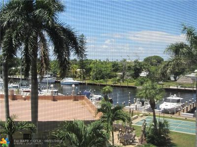 Pompano Beach Condo/Townhouse For Sale: 2731 NE 14th Street Cswy #431