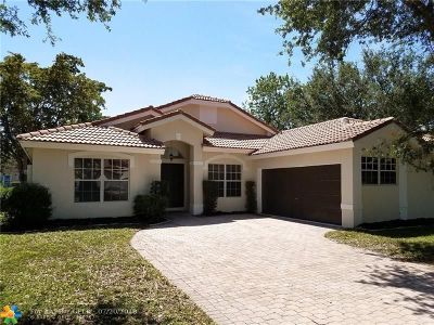 Coconut Creek Single Family Home For Sale: 5535 NW 41st Ter