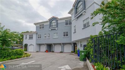 Fort Lauderdale Condo/Townhouse For Sale: 1839 N Dixie Hwy #4
