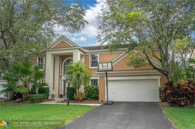 Coral Springs Single Family Home For Sale: 3940 Wild Lime Ln