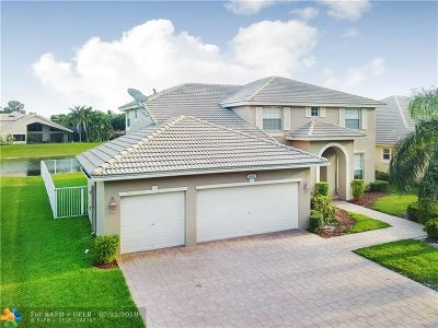 Coral Springs Single Family Home For Sale: 6552 NW 56th Dr