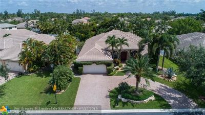 Coral Springs Single Family Home For Sale: 6093 NW 56th Dr