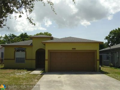 Pompano Beach Single Family Home For Sale: 1573 NW 7th Ter