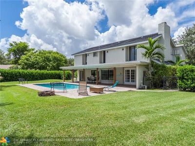Coral Springs Single Family Home For Sale: 407 NW 104th Ave