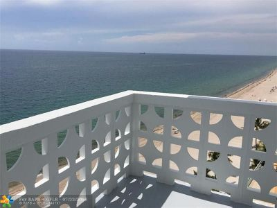 Fort Lauderdale Condo/Townhouse For Sale: 4010 Galt Ocean Dr #1104