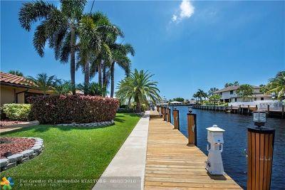 Pompano Beach Single Family Home For Sale: 2940 NE 22nd Ct