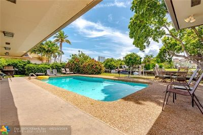 Hallandale Single Family Home For Sale: 631 Oleander Drive