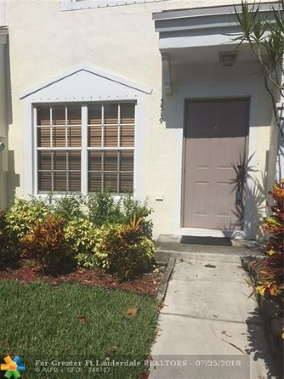 Margate Condo/Townhouse For Sale: 3319 Concert Ln #3319