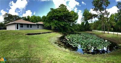 West Palm Beach Single Family Home For Sale: 13088 58th Ct