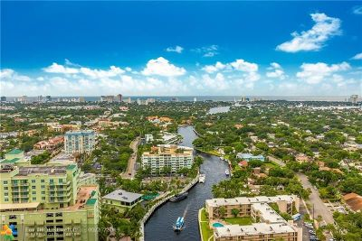 Fort Lauderdale Condo/Townhouse For Sale: 411 N New River Dr #3003