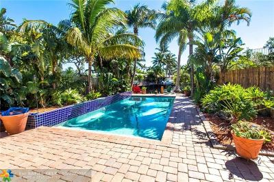 Pompano Beach Single Family Home For Sale: 400 SE 5th Ct