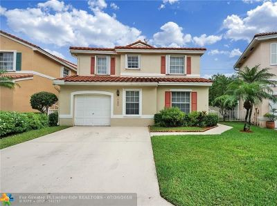 Coral Springs Single Family Home For Sale: 10889 NW 46th Dr