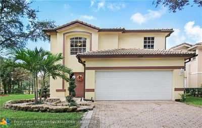 Coral Springs Single Family Home For Sale: 1118 NW 97th Dr