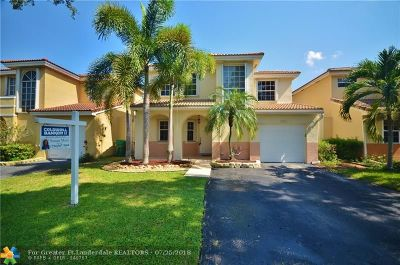 Cooper City Single Family Home For Sale: 10751 N Saratoga Dr