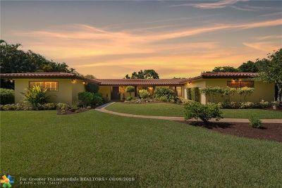 Plantation Single Family Home Backup Contract-Call LA: 6000 Coconut Ter