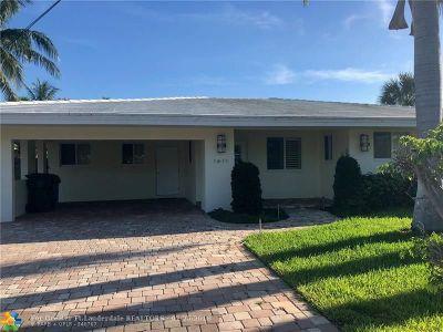 Oakland Park Single Family Home For Sale: 1611 NE 34th St