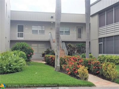 Delray Beach Condo/Townhouse For Sale: 299 Flanders G #G
