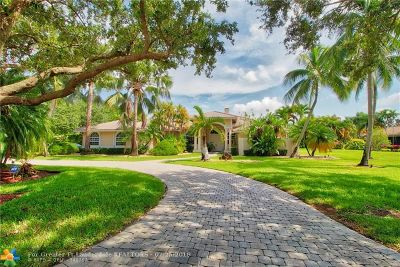 Coral Springs Single Family Home For Sale: 7631 NW 47th Drive