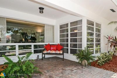Fort Lauderdale Single Family Home For Sale: 2116 NE 45th St
