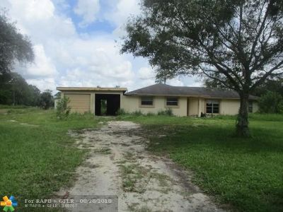Loxahatchee Single Family Home For Sale: 16141 E Calder Dr