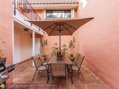 Plantation Condo/Townhouse For Sale: 287 Jacaranda Dr #16