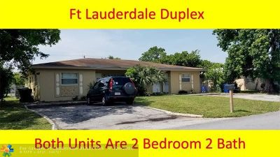 Fort Lauderdale Multi Family Home Backup Contract-Call LA: 1490 NW 19th Ct
