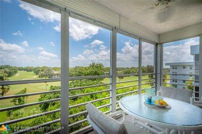 Pompano Beach Condo/Townhouse For Sale: 4020 W Palm Aire Dr #511